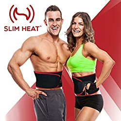 Slim Heat Neoprene Waist Trimmer with Smartphone Sleeve Case
