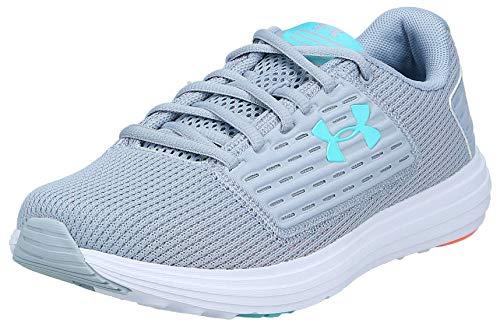 Under Armour Women's Surge SE Running Shoe, Blue Heights (400)/White, 11