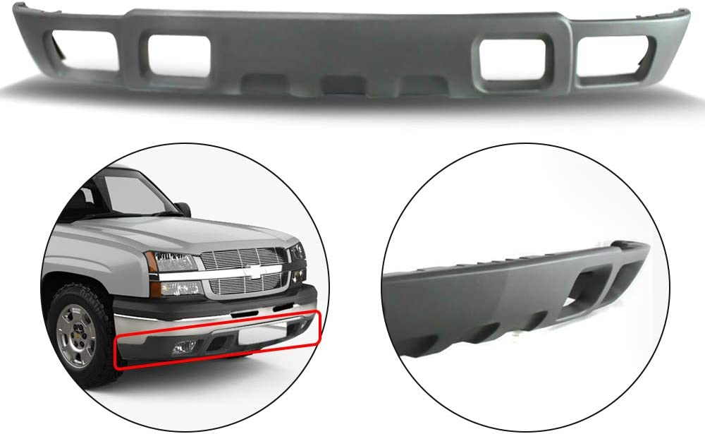 Buy Make Auto Parts Manufacturing Front Lower Bumper Valance Textured Gray For Chevrolet Silverado 1500 2003 2004 2005 2006 Gm1092173 Online In Indonesia B0722x4yck