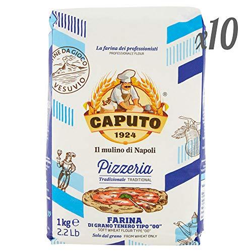 10x Farina Molino Caputo Pizzeria per Pizza Napoli Pizzamehl Pizza Mehl 1kg