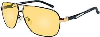 rainbow safety - Hombres Gafas de Sol Visión Nocturna Lentes Fotocromáticas Polarizadas RWNP5