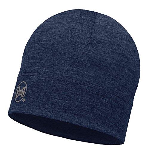 BUFF® SET - 1 LAYER MERINO HAT Bonnet + UP® Tissu tubulaire   Laine mérino   Beanie   Logo   Beanie   Respirante   Anti-odeur, alle Buff Designs 2016:237. DENIM 1L Hat Merino