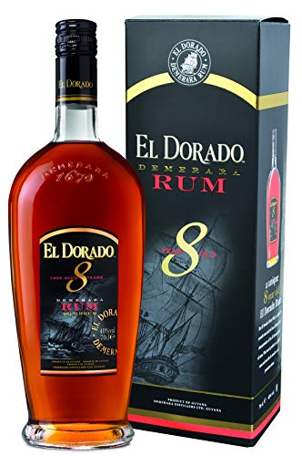 El Dorado El Dorado 8 Years Old Cask Aged Demerara Rum 40% Vol. 0,7L In Giftbox - 700 ml