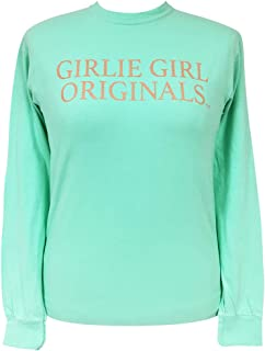 Southern Simple Rose Gold Comfort Color Island Reef Long Sleeve T-Shirt