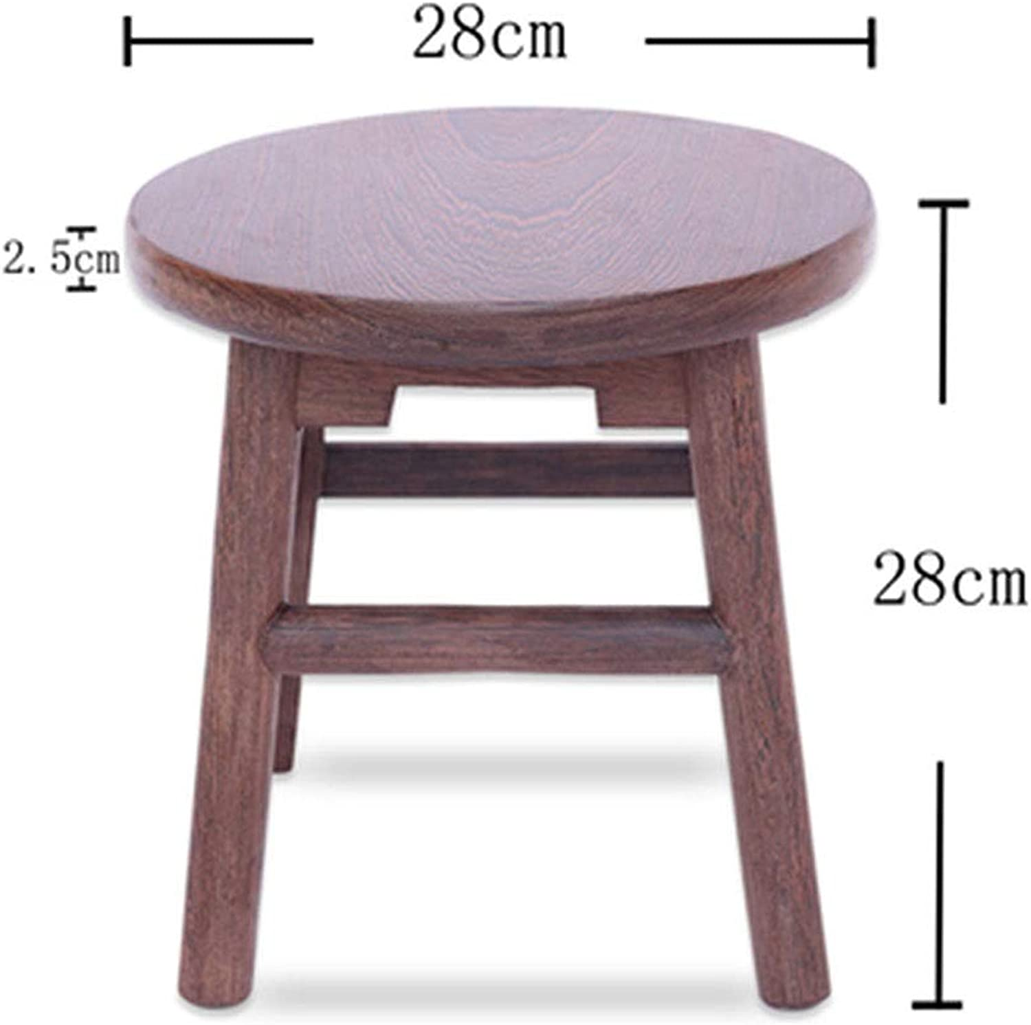 B.YDCM Wooden Bench- Stool Small Square Stool Restaurant Home Wooden Stool Dining Stool Low Stool Solid Wood Bench Bench - Wood Bench (color   K)