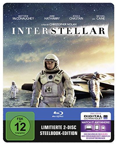 Interstellar (Steelbook) (exklusiv bei Amazon.de) [Blu-ray] [Limited Edition]