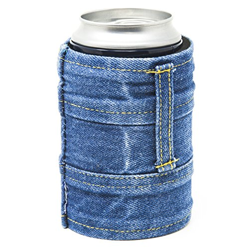 Funny Guy Mugs Jean Collapsible Neoprene Can Coolie - Drink Coolor
