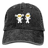 mn Mens Baseball Cap-Paar Ehe Junge M?Dchen Geschwister Zwillinge Trucker Caps for Men, Adjustable Cool Cowboy Hat Sombreros y Gorras