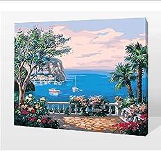 Ingelijste Schilderen door Getallen Kleurplaten door Getallen voor Home Decor Muurdecoratie Canvas Picture Olie Seeing Zee