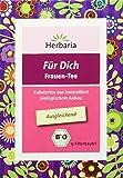 """Herbaria """"Für Dich Frauentee"""" 15FB BIO Ausgleichender Kräutertee für Frauen"""