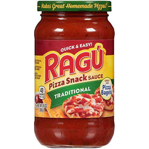Ragu Pizza Quick Snack Sauce, Traditional, 14 oz.