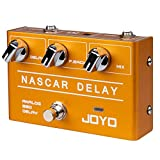JOYO R-10 Analog Vintage Delay Effect Pedal Classic Pedal Warm & Natural Sound Guitar Pedal Effect for Electric Guitar Bass Pedal