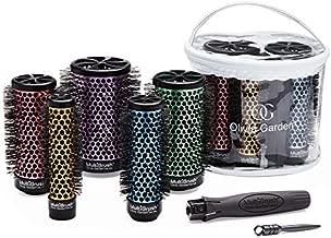 Olivia Garden Multibrush Detachable Thermal Styling Hair Brush, MB-BD01, 6 Piece Bag Deal