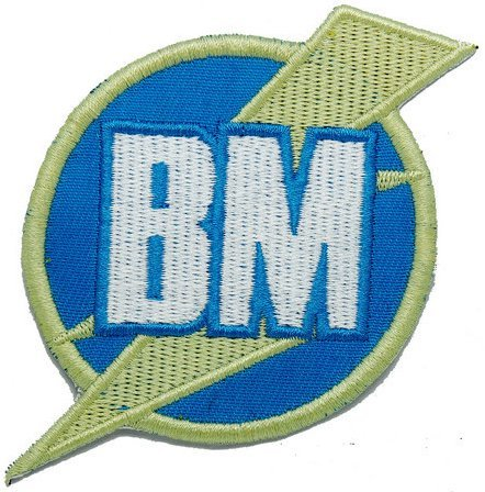 BM Best Man You Me and Dupree Movie Logo Tactical Embroidery Patch Hook & Loop Morale Patch Military Patch for Clothing Accessory Backpack Armband