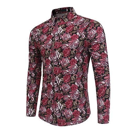 Camisa casual de los hombres de manga larga camisa de los hombres camisa de abajo