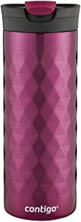 Contigo SnapSeal Kenton Stainless Steel Travel Mug, 20 oz., Very Berry 20 oz Pink 1999543