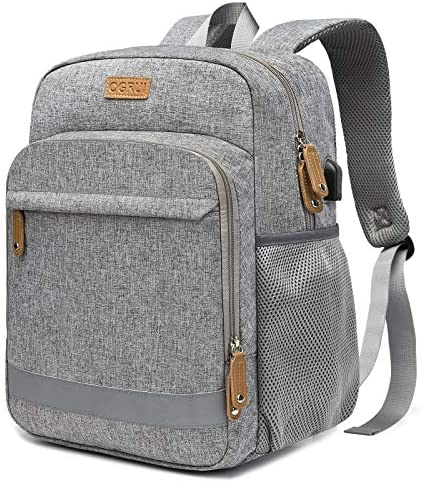 Laptop Backpack Business Laptop Bag for Men Women waterproof Travel daypack with USB charging product image