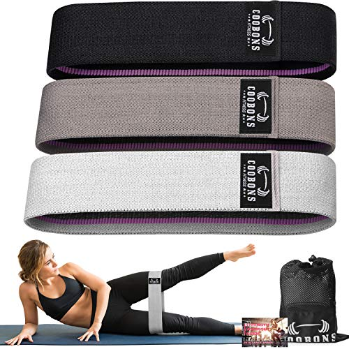 Resistance Bands for Legs and Butt - Exercise Bands Hip Bands Workout Bands...