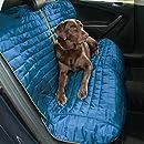 Kurgo Hundedecke für Auto Rückbank - Auto-Sitzbezüge für Hunde und andere Haustiere  - im Loft Stil - Blau / Grau
