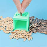 m·kvfa Melon Seed Peeler Automatic Shelling Machine Household Kitchen Lazy Seed Opener Tool Accessories for Sunflower Seeds (Green)