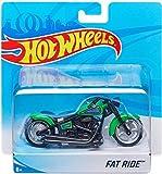 Hot Wheels Bike Fat Ride Bike, 5 Inches (Green)