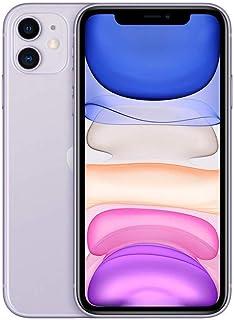 Apple iPhone 11 with FaceTime - 128GB, 4GB RAM, 4G LTE, Purple, Single SIM & E-SIM - MHDM3AAA