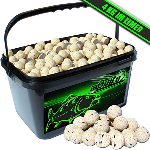 Angel-Berger Magic Baits Boilies im Eimer 4 kg (Vanille)