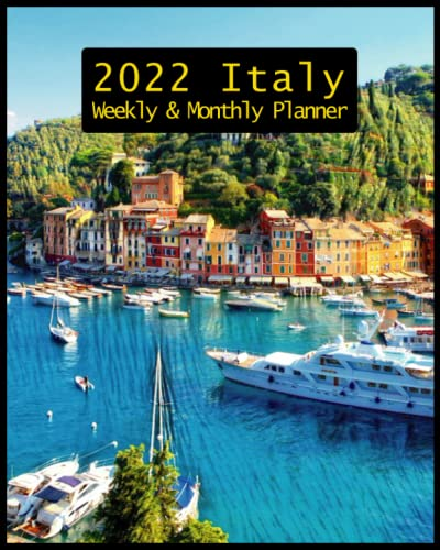 Compare Textbook Prices for Weekly & Monthly Planner 2022 Italy: Weekly and Monthly Calendar, Agenda Organizer, Appointment Book, Personal Time Management, Agenda Schedule ... With Holidays, Italy Gifts For Italy lovers  ISBN 9798751175870 by Press, Ikarikos