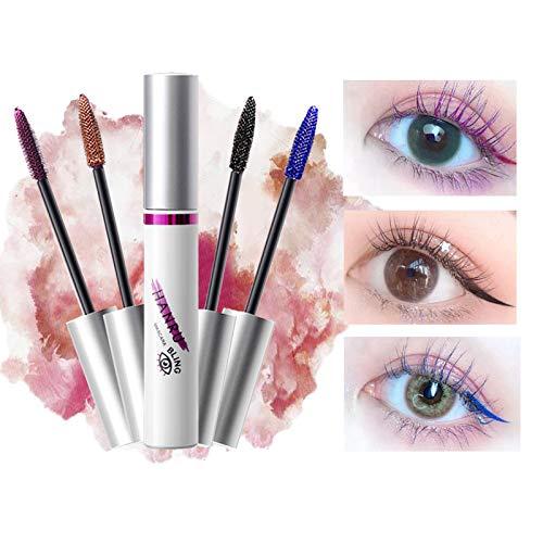 Petansy 5 Colors Mascara Colorful Waterproof Mascara 3D Fiber Lash Mascara No Flaking, No Smudging, No Clumping Volume Eye lash