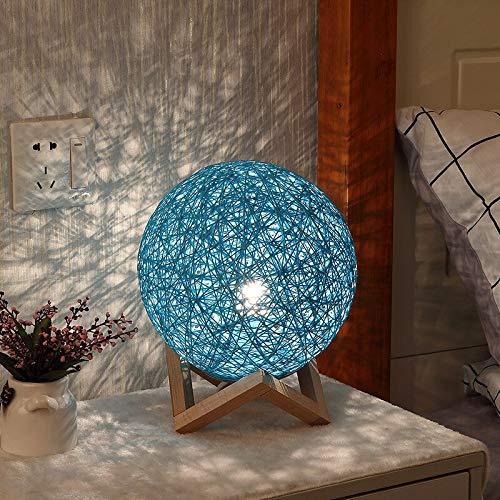 Sepak takraw vine LED luz de noche decorativa cielo estrellado creativo regalo lámpara de mesa usb dormitorio luz de noche A2 15x15cm