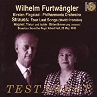 Strauss - Four Last Songs (World Premiere) (2007-06-14)
