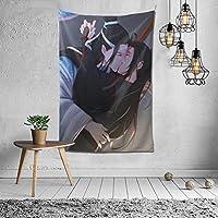 2021 魔道祖師(ダオマスター) タペストリー ファッションの絶妙な印刷リビングルームの入り口寝室の背景壁の装飾カスタマイズされた壁掛け布 (152*102cm)