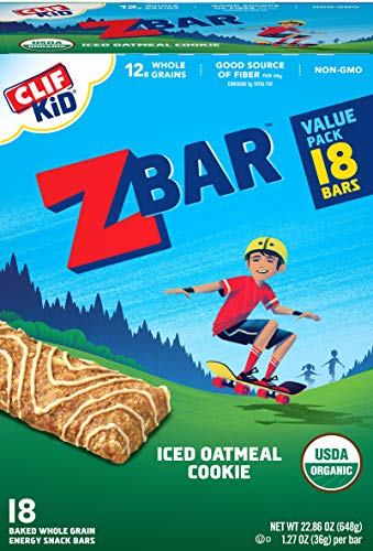 Clif Kid ZBAR - Organic Granola Bars - Iced Oatmeal Cookie - (1.27...