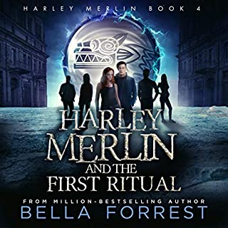 Harley Merlin and the First Ritual     Harley Merlin, Book 4              Written by:                                                                                                                                 Bella Forrest                               Narrated by:                                                                                                                                 Amanda Ronconi                      Length: 13 hrs and 27 mins     2 ratings     Overall 5.0