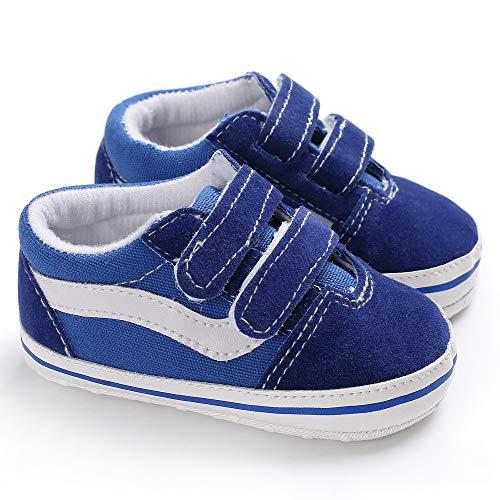 Geagodelia Zapatos Deportivos de Bebé Recién Nacido Zapatillas de Gimnasio Unisex Niños Niñas Pequeños Primeros Pasos de Deporte de Moda con Suela Suave