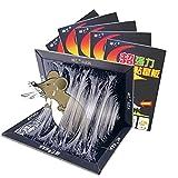 KLMM 10/20-Pack Transporte de ratón, trampas de Placa de Pegamento Adhesivo súper pegajosas para Ratones Rats Capturas en el Interior y Outdoorrat Cockroach Spider (Size : 20 pcs)