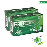 2baconil Chewing Gum for Quit Smoking/Tobacco (2MG)-Pack of 100 Gums