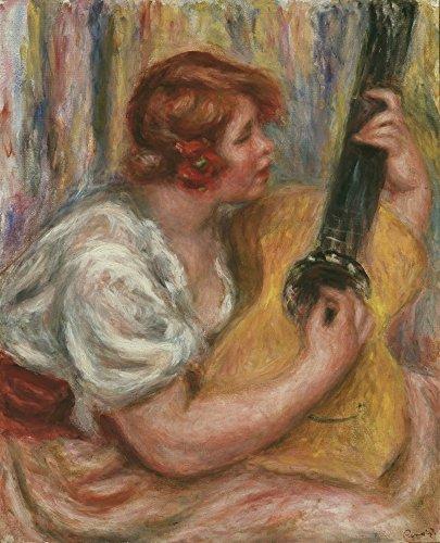 Het Museum Outlet - Vrouw met een Gitaar, 1918 - Canvas Print Online Kopen (60 X 80 Inch)