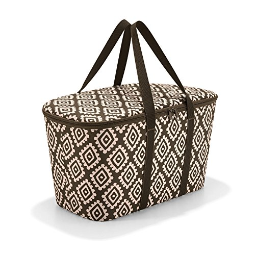 Reisenthel coolerbag Strandtasche, 44 cm, 20 L, Diamonds Mocha