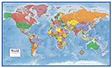 Best World Maps - 48x78 World Classic Premier Wall Map Mega Poster Review