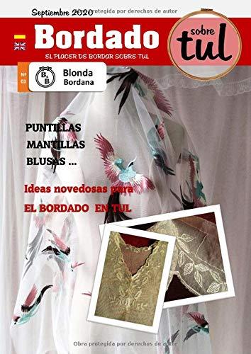 BLonda Bordana 03: revista de bordado en tul
