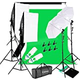 Best Continuous Lighting Kits - Kshioe 1700W 5500K Umbrellas Softbox Continuous Lighting Kit Review
