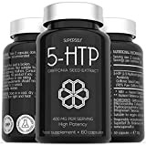 5HTP High Strength 400mg - 60 capsules - 400mg 5-HTP Serving from 410mg