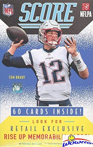 2020 Score NFL Football Factory Sealed HANGER Box with 60 Cards Including (12) RCS & (16) PARALLEL/INSERTS! Look for Tom Brady Tribute Cards & RC & AUTOS of Joe Burrow, Tua Tagovailoa & More! WOWZZER!