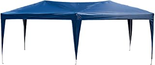 Polar Aurora New 10' X 20' Outdoor Patio Easy Pop up Canopy Wedding Party Tent Foldable Waterproof w/Portable Bag (Blue)