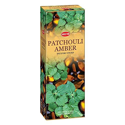 Patchouli Amber - Box of Six 20 Stick