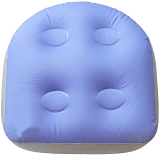 Back Pad SPA Cushion Massage Mat Soft Inflatable Booster Seat For Adults Kids(As Shown)