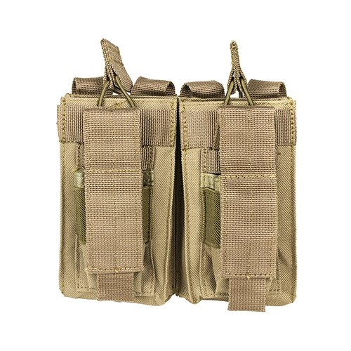 VISM by NcStar AR Double Mag Pouch, Tan (CVAR2MP2927T)
