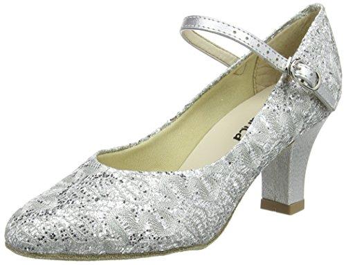 So Danca Bl166, Damen Standard & Latein, Silber (Silver Sparkle), 39.5/40 EU (6.5 UK)