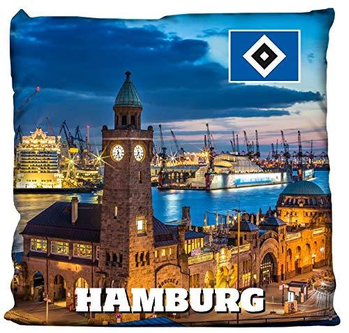 Hamburger SV HSV LED Kissen Hamburger Hafen, 30115